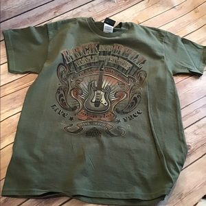 Rock & Roll  T-shirt  Youth Size L